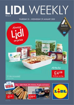 Lidl offers in the Abingdon catalogue
