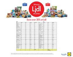 Lidl offers in the Leeds catalogue