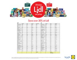 Lidl offers in the Cannock catalogue