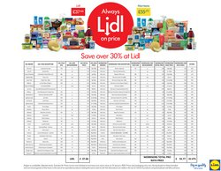 Lidl catalogue ( 11 days left )