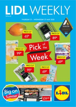 Supermarkets offers in the Lidl catalogue in Glasgow ( 2 days left )