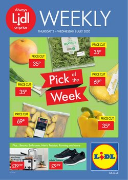 Lidl catalogue ( Published today)