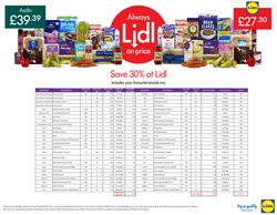 Lidl catalogue ( More than a month )