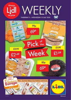 Supermarkets offers in the Lidl catalogue in Edinburgh ( 4 days left )