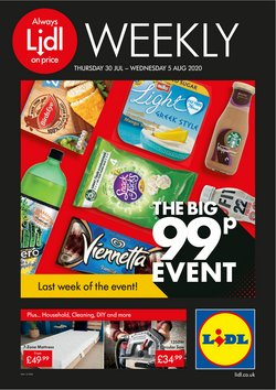 Supermarkets offers in the Lidl catalogue in Swansea ( Expires today )