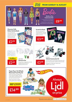 Offers of Stickers in Lidl
