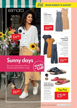Offers of Dress in Lidl