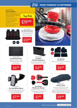 Offers of Car in Lidl