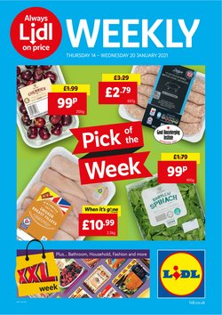 Lidl catalogue in Nuneaton ( 3 days left )