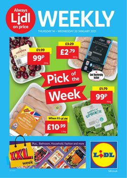 Lidl catalogue ( Expires today )