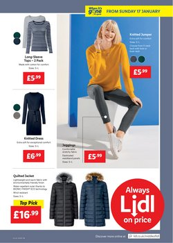 Offers of Berghaus in Lidl