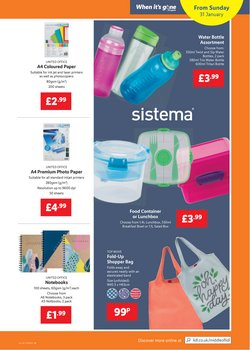 Offers of Paper in Lidl