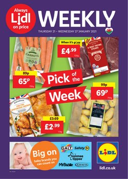 Lidl catalogue ( Expires tomorrow )