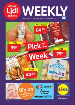 Supermarkets offers in the Lidl catalogue in Edinburgh ( Published today  )