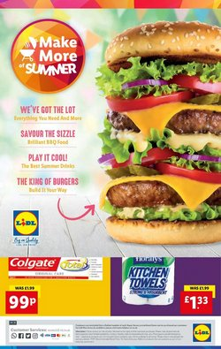 Supermarkets offers in the Lidl catalogue ( Expires today)
