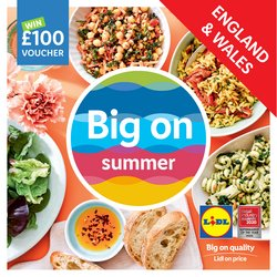 Lidl catalogue ( More than a month)