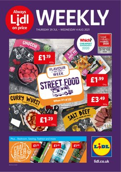Lidl catalogue ( Expires today)