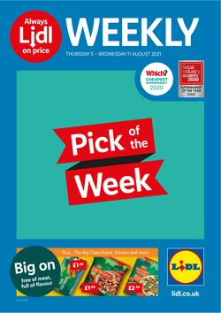 Supermarkets offers in the Lidl catalogue ( 8 days left)