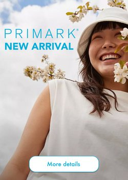Primark offers in the Primark catalogue ( Published today)