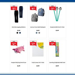 Stationery offers in the Aldi catalogue in London
