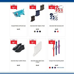 Watch offers in the Aldi catalogue in London