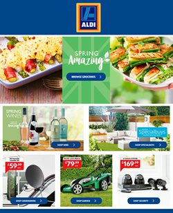 Aldi offers in the Stafford catalogue