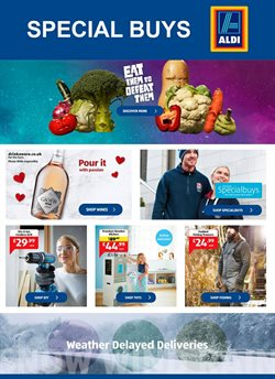 Aldi offers in the Liverpool catalogue