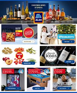 Supermarkets offers in the Aldi catalogue in Leicester