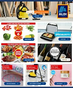 Aldi catalogue in York ( 10 days left )