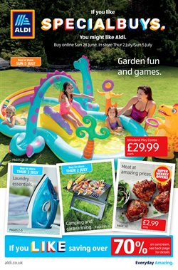 Supermarkets offers in the Aldi catalogue in Taunton ( 3 days left )