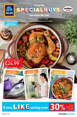 Supermarkets offers in the Aldi catalogue in Coventry ( 4 days left )