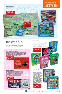 Offers of Games in Aldi