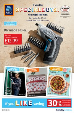 Aldi catalogue ( 17 days left )
