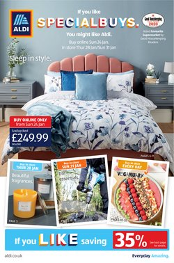 Supermarkets offers in the Aldi catalogue in Redditch ( Published today  )