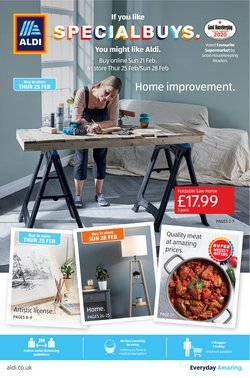 Aldi catalogue ( 10 days left )