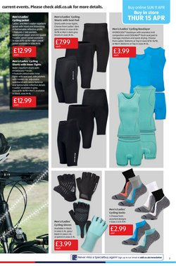 Offers of Cycling shorts in Aldi