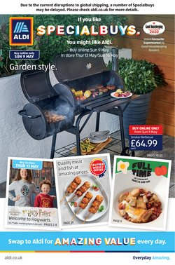 Aldi catalogue ( 12 days left )