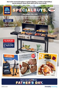 Supermarkets offers in the Aldi catalogue ( 2 days left)