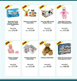 Pokemon offers in the Hamleys catalogue in London