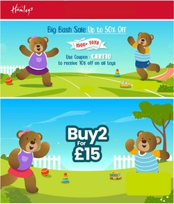 Toys & Babies offers in the Hamleys catalogue ( 4 days left)