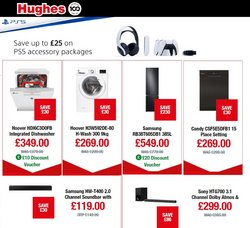 Sony offers in the Hughes catalogue ( 6 days left)