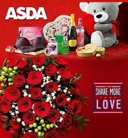 Saint Valentine's Day offers in the Asda catalogue in London