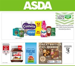 Supermarkets offers in the Asda catalogue in Greenwich