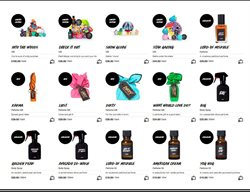 Perfumery offers in the Lush catalogue in London