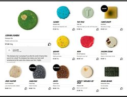 Soap offers in the Lush catalogue in London