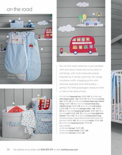Cars offers in the Mothercare catalogue in Aberdeen