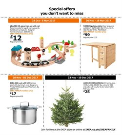 Christmas offers in the IKEA catalogue in London
