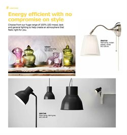 Lamp offers in the IKEA catalogue in London