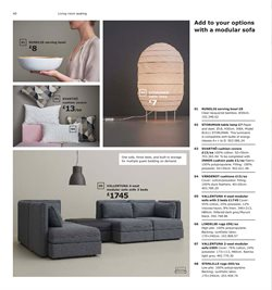 Bedding offers in the IKEA catalogue in London
