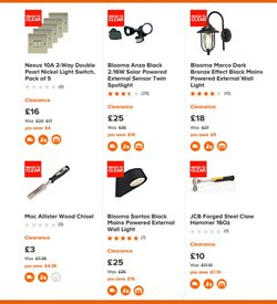 Tools offers in the B&Q catalogue in Barking-Dagenham